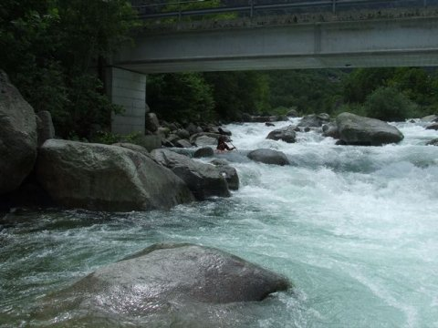 Torrente Orco in Kayak Fred